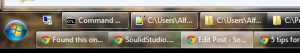 5 tips for the overworked software developer. 2-rows taskbar